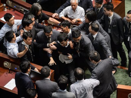 Arrest of 7 political figures to clean up mess at HK LegCo: expert