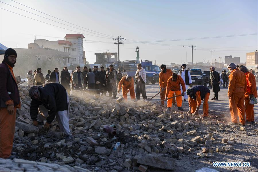 Three policemen killed in bomb attack in W. Afghanistan