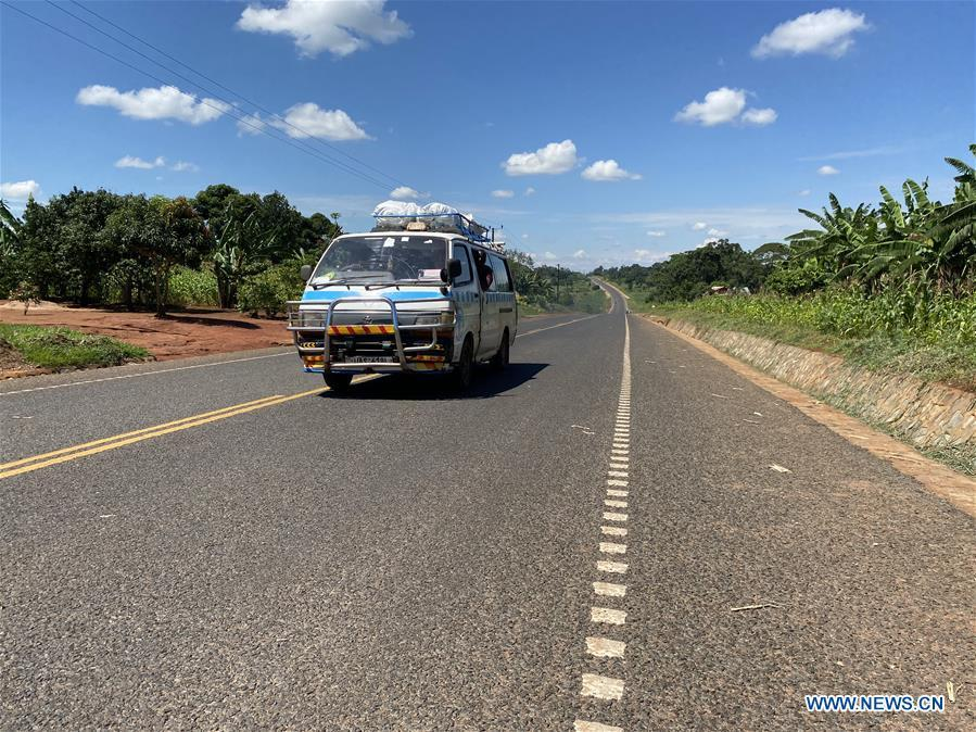 Uganda launches Chinese-constructed road linking Kenya