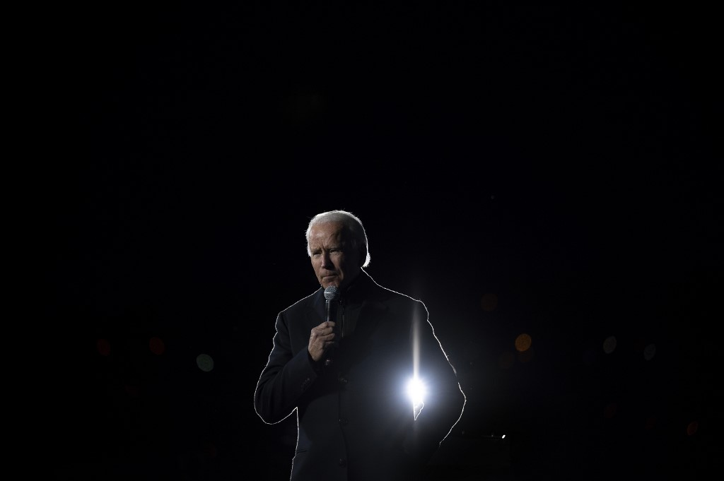 Biden leads in polls going into Election Day but battlegrounds tight