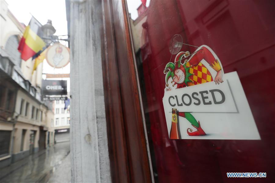 Belgium moves to stricter lockdown rules