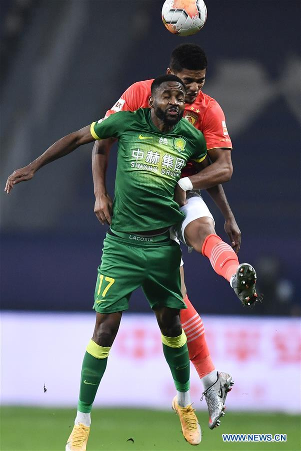 Guangzhou Evergrande move into Chinese Super League final after eliminating Beijing Guoan
