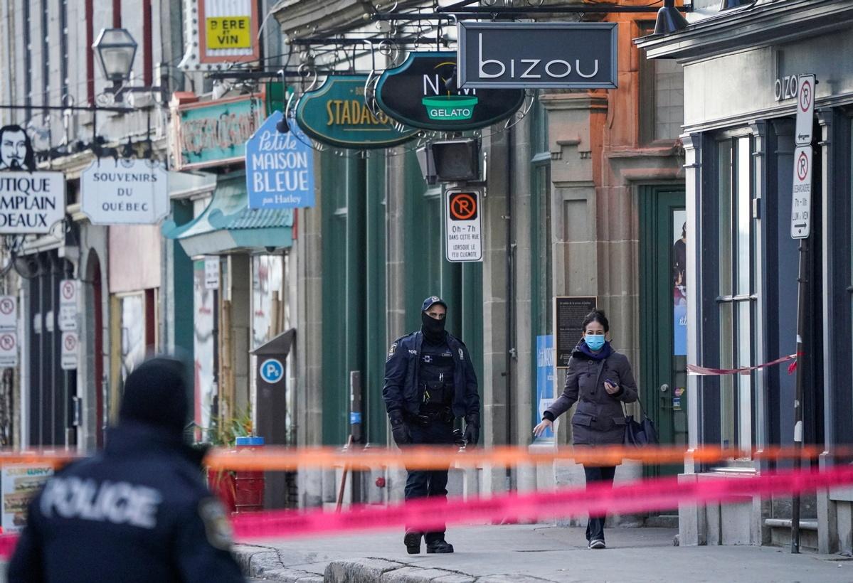 Swordsman kills 2 in Quebec rampage