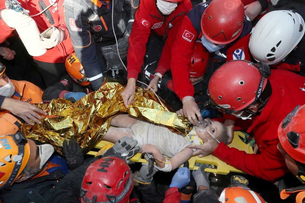 'Our Miracle': Girl rescued 4 days after Turkey quake
