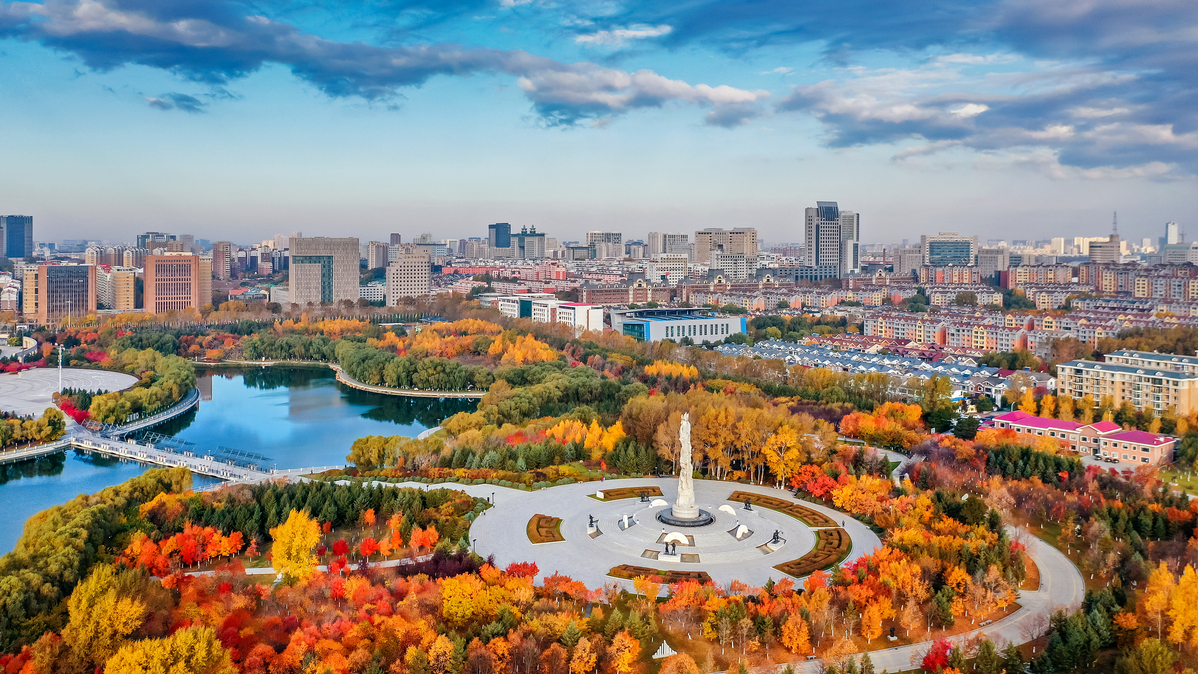 Spectacular Changchun provides perfect autumn scenery
