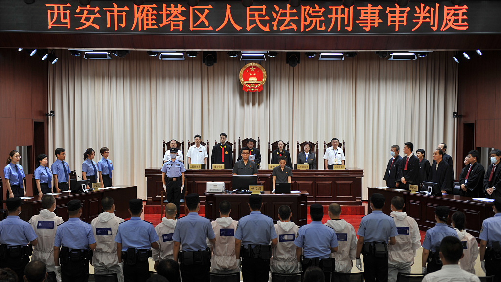 China convicts 1,151 in major organized crime cases