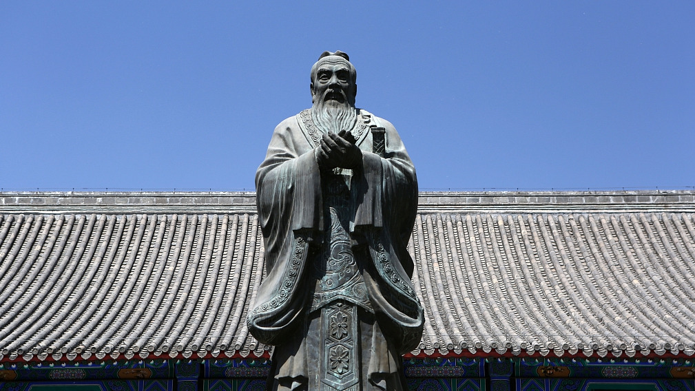 French work on Confucius enters China national library