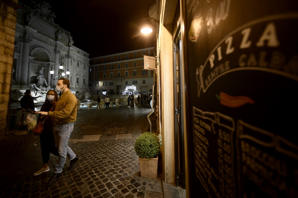 Italy to impose anti-virus night curfew