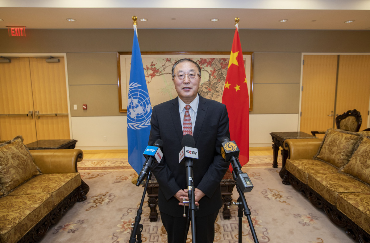 Chinese envoy calls for protection of police in peacekeeping