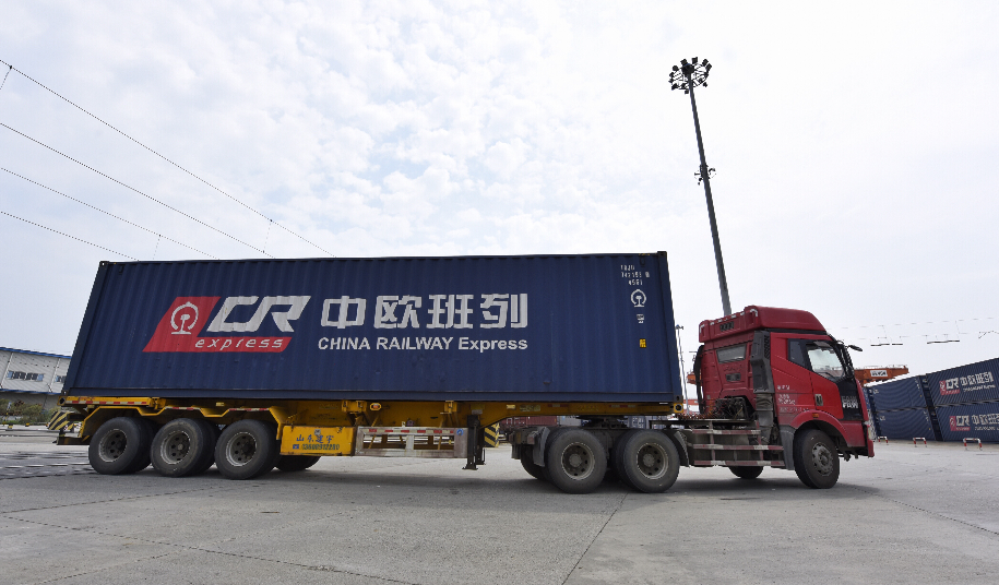 China-Europe freight trains facilitate parcel delivery for shopping spree
