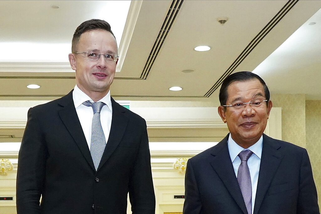 Cambodia's prime minister in quarantine after Hungarian meet