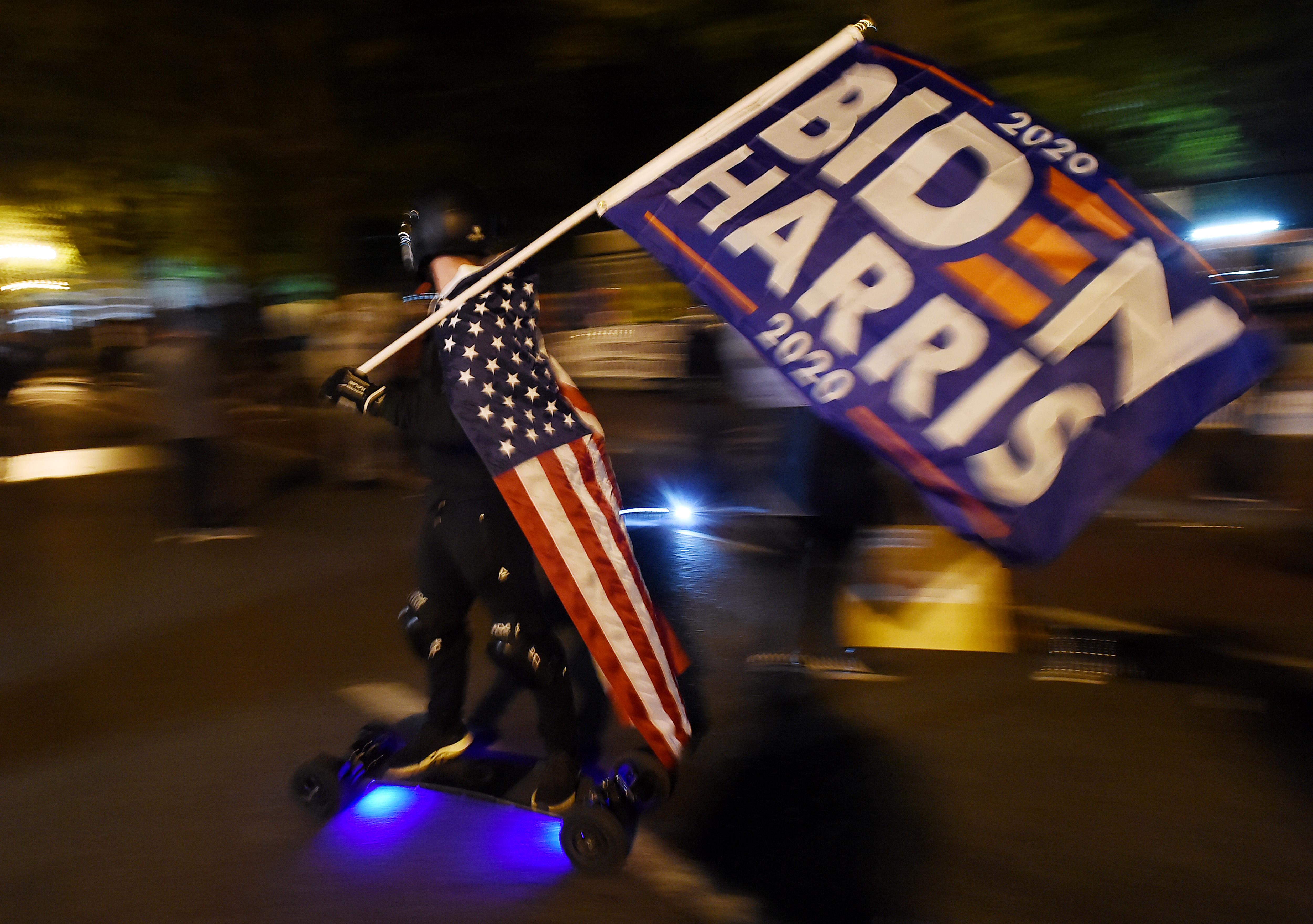 Biden pulls ahead of Trump in Georgia, votes still to count: US media