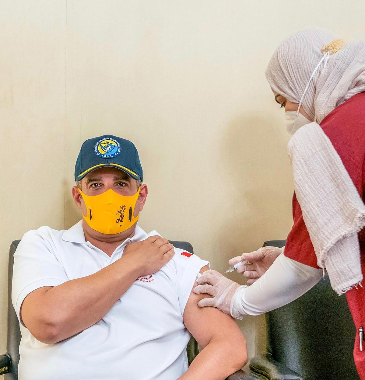 Bahrain to vaccinate frontline workers with COVID-19 shot