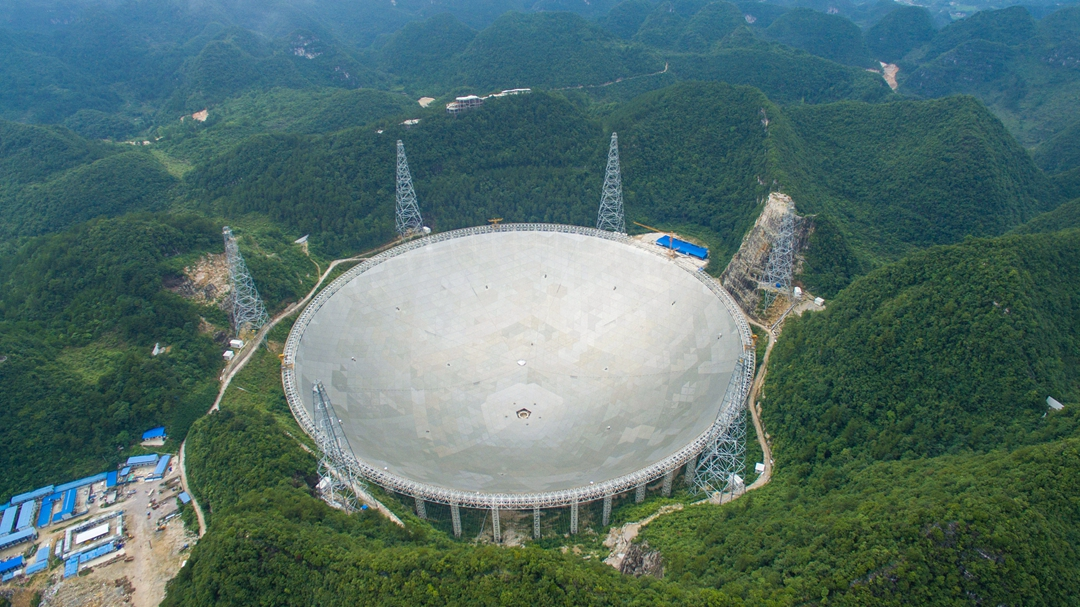 China to open its gigantic FAST telescope to global scientists in 2021