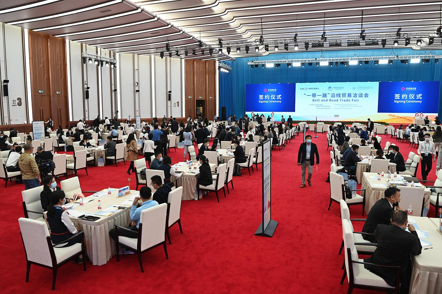 CIIE promotes State, foreign firms' tie-ups