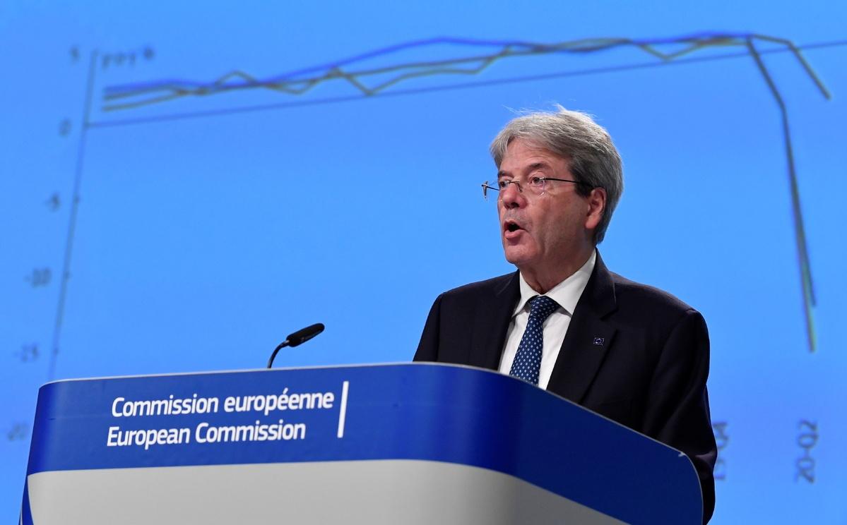 Lockdowns spur EU growth downgrade