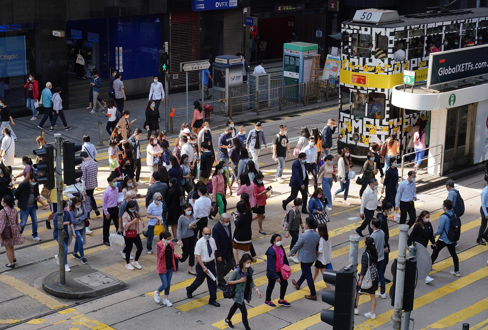 Hong Kong reports 3 new COVID-19 cases with one untraceable