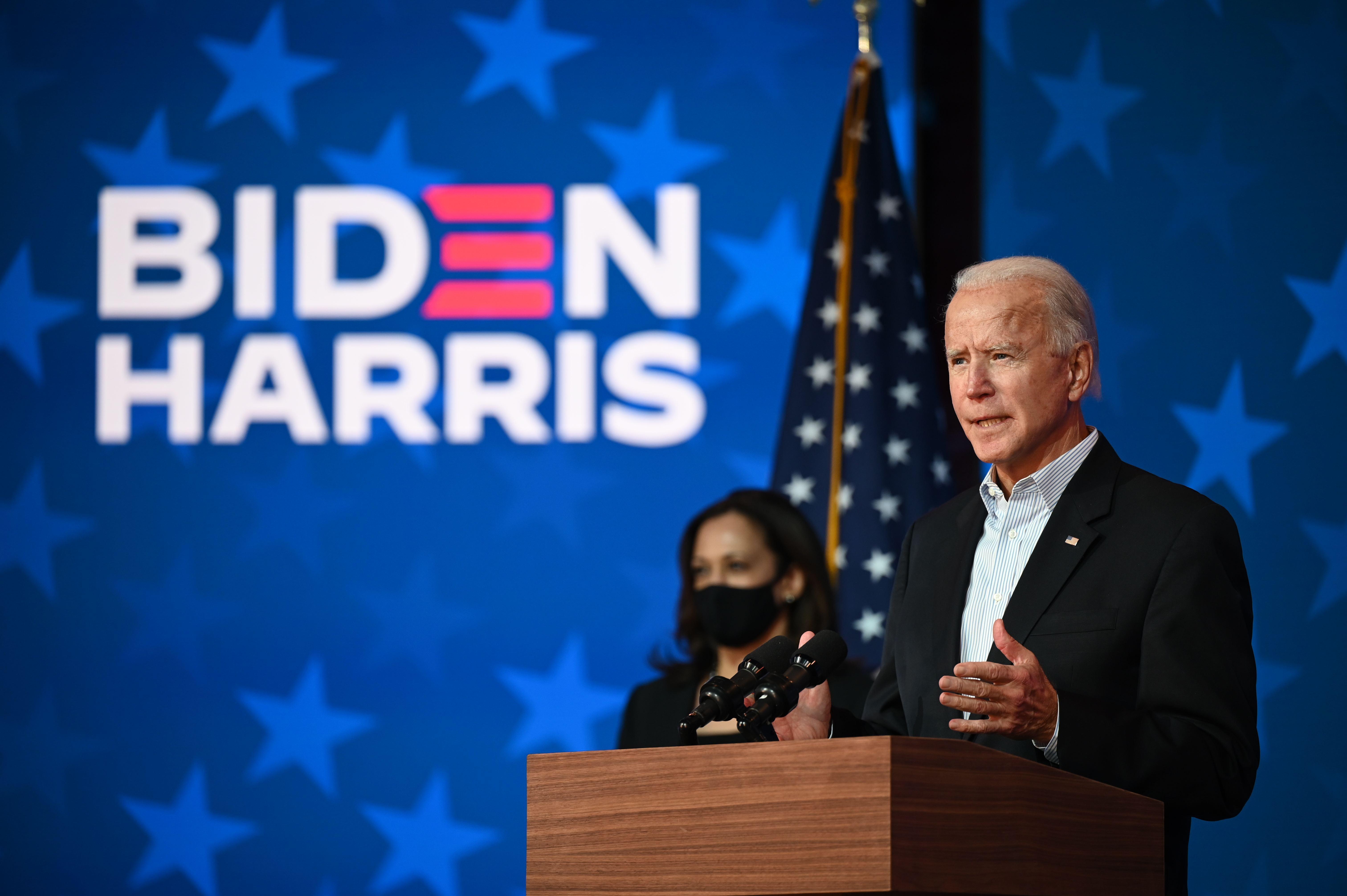 Biden: We're going to win this race