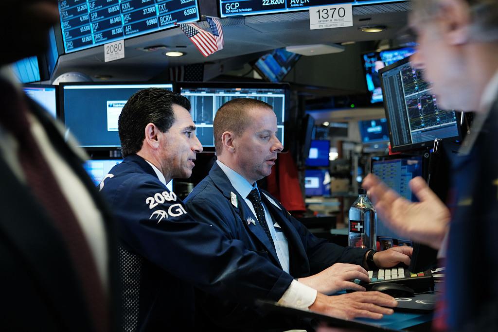 US stocks end with modest gains on renewed stimulus hopes