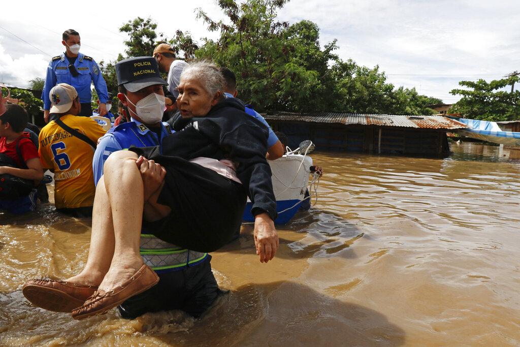 Storm Eta death tolls rise in Mexico, Honduras