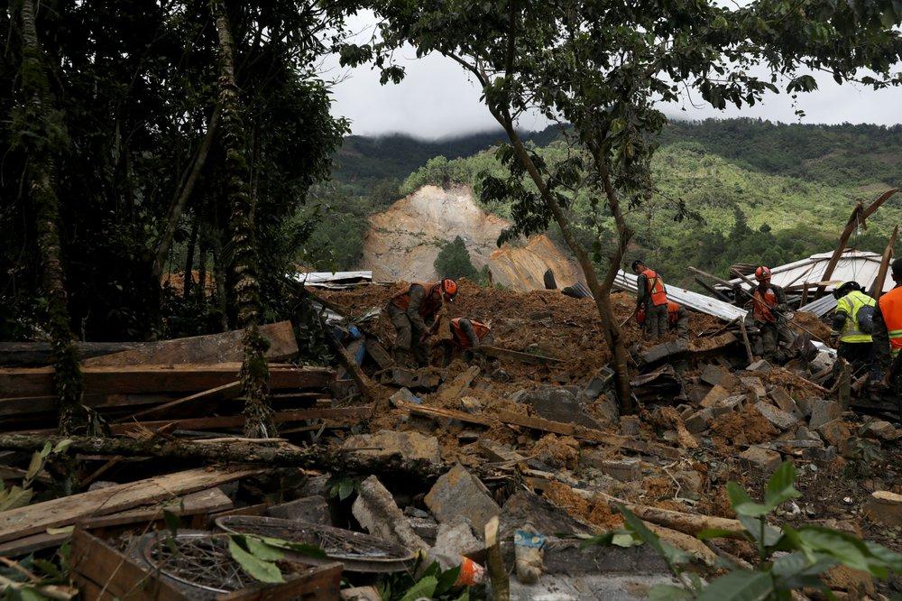 Eta makes landfall on Cuba as Guatemala searches for victims