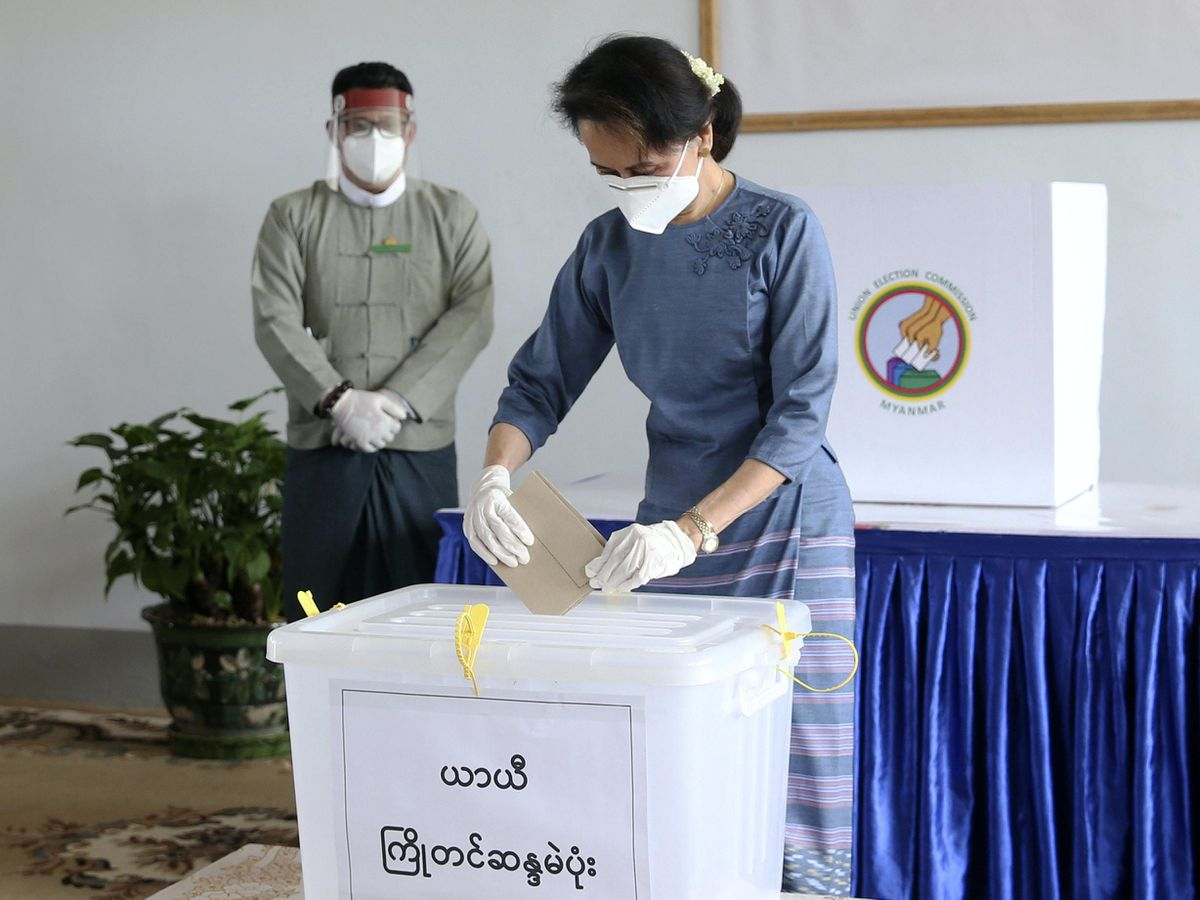 Voting begins in Myanmar's general elections
