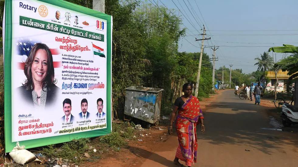 India hails Kamala Harris as history-making VP-elect