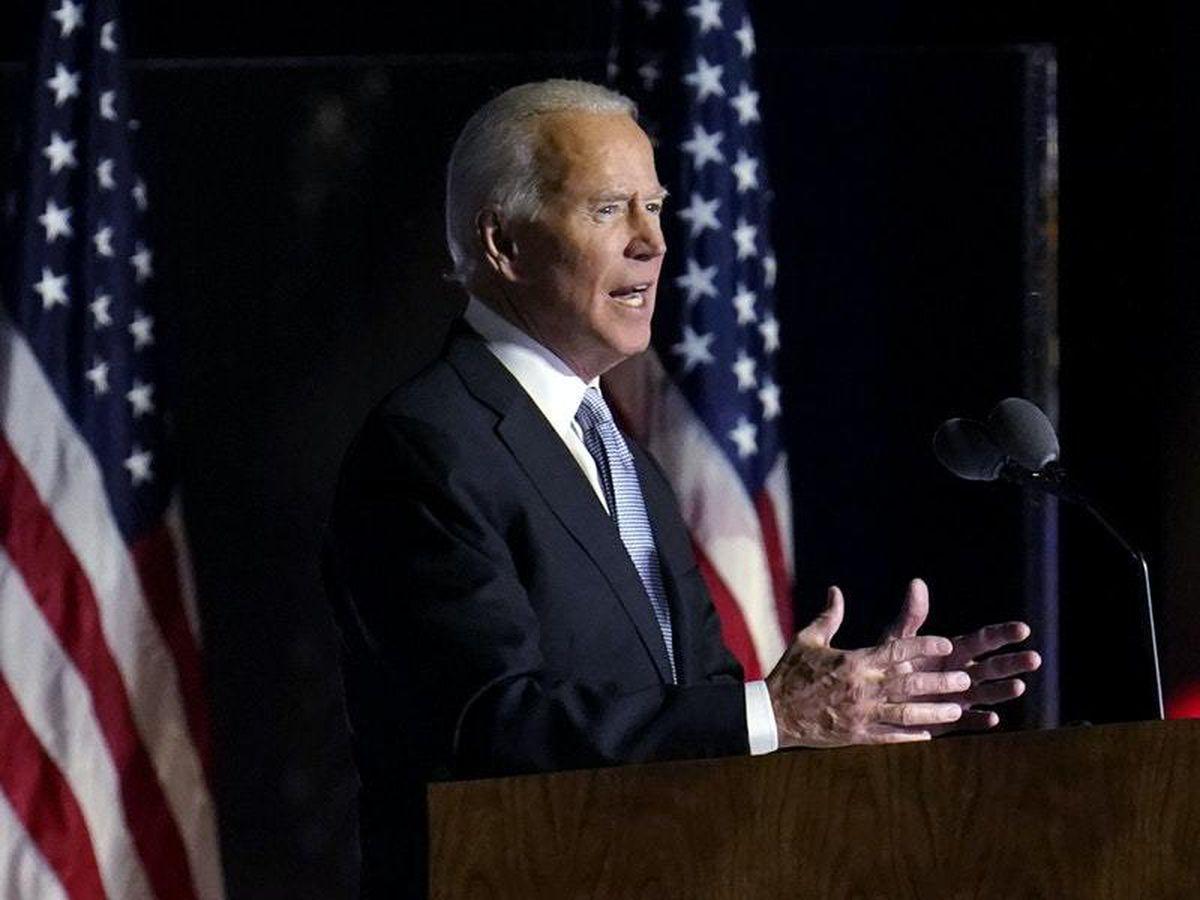 Biden pledges to be a unifying president