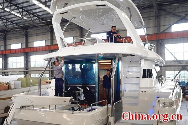 Discover a sea of possibilities with made-in-China yachts