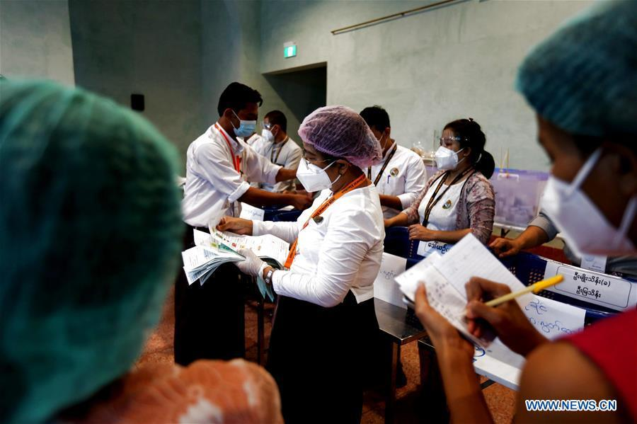 Voting concludes in Myanmar's general elections