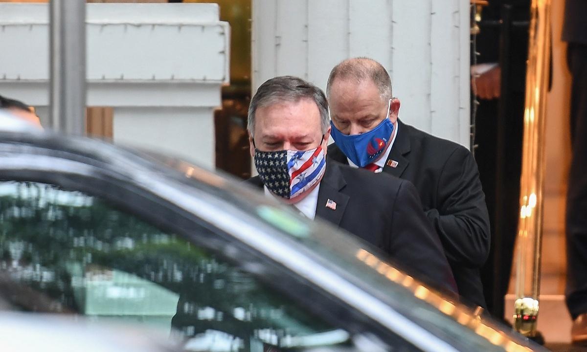 Pompeo's era of train wreck diplomacy nears volatile end