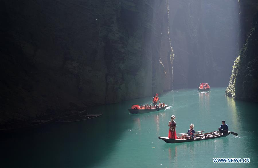 Scenery of Enshi Tujia and Miao Autonomous Prefecture in central China