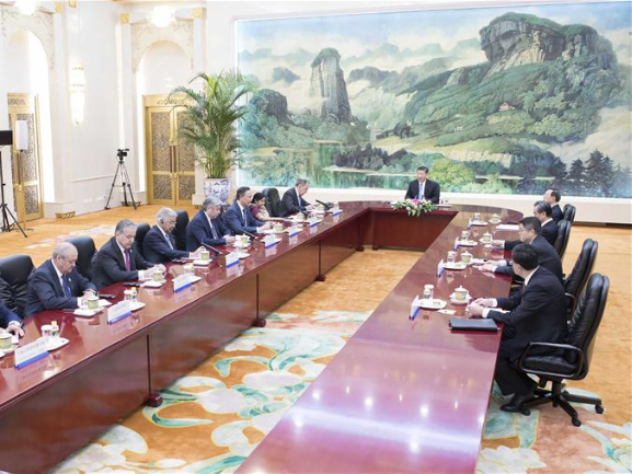 Why SCO called example by President Xi?