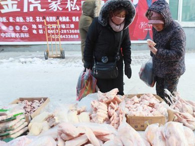 China requires disinfection of imported cold chain food