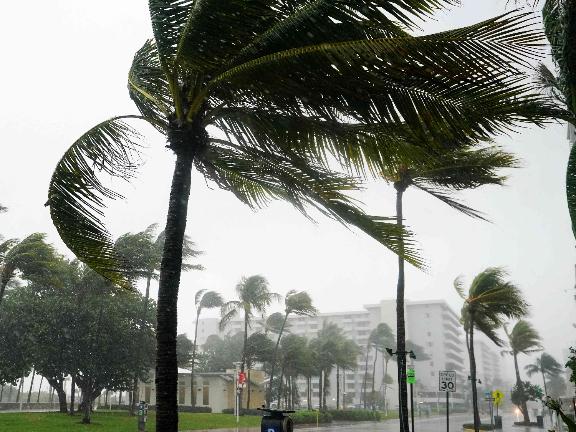 Tropical Storm Eta makes landfall in Florida