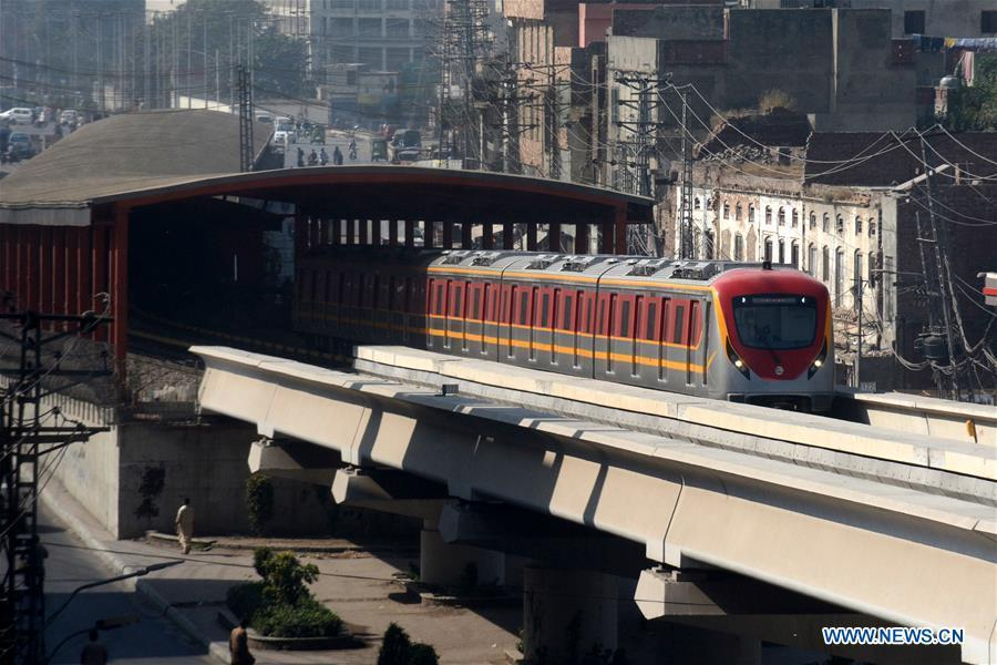 Pakistan's first ever metro train service in commercial operation