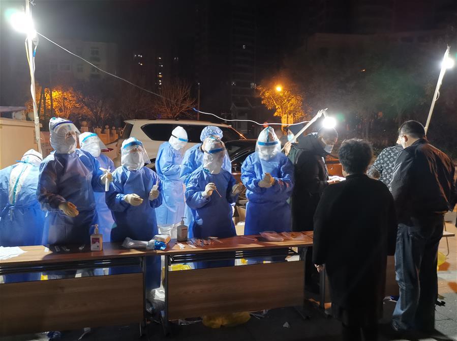 China's Tianjin reports new asymptomatic COVID-19 case