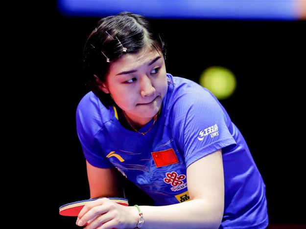 World No. 1 Chen Meng crowned at ITTF Women's World Cup