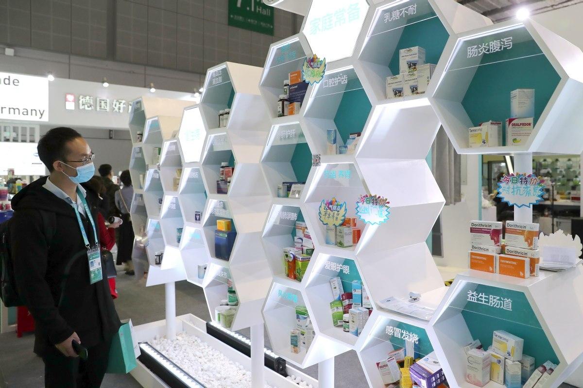 Global pharma firms take CIIE pill for growth