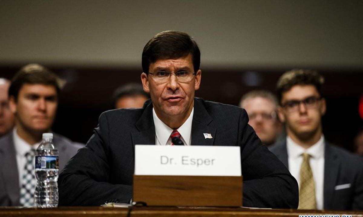 Esper's firing signals possible 'waves of dismissals and resignations' over next 70 days