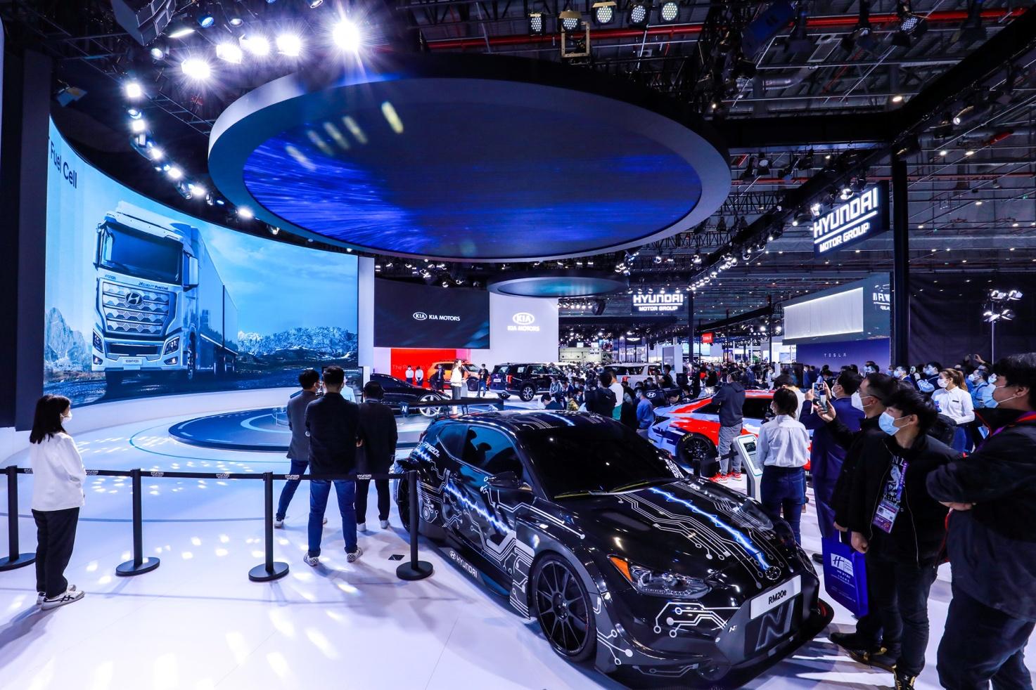 Hyundai speeds up to tap China's FCV segment