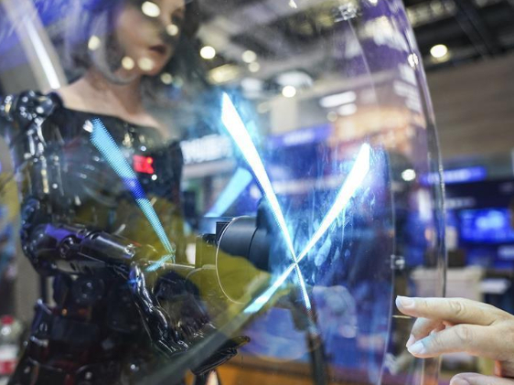 In pics: Intelligent Industry and Information Technology exhibition area at CIIE