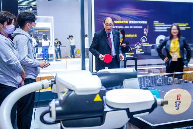 Global 5G innovations shine at third CIIE