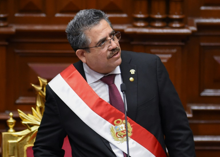 Peru's head of Congress takes over presidency