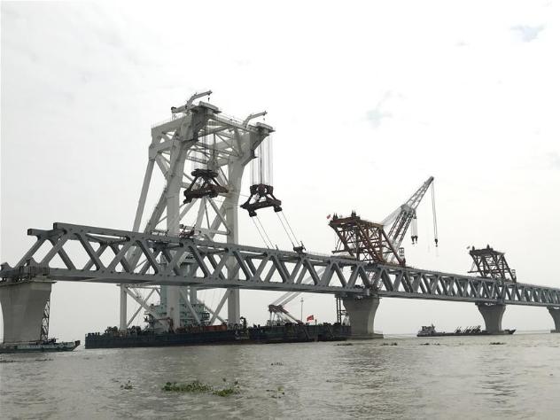 5.5 km of Bangladesh's 6 km-long Padma Bridge completed