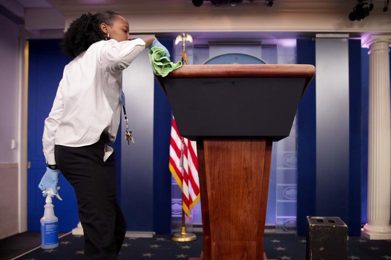 New coronavirus case in White House