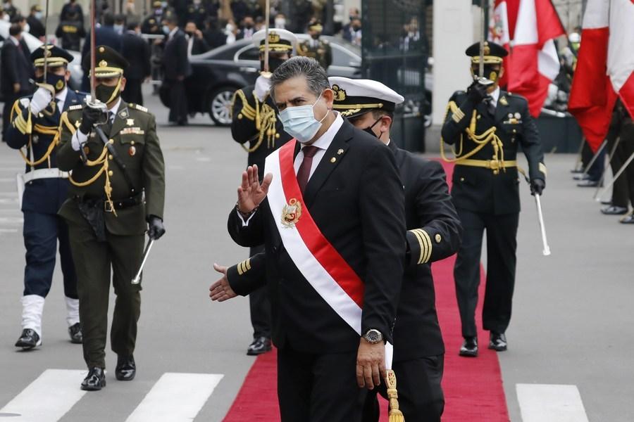 Peru's president swears in new prime minister