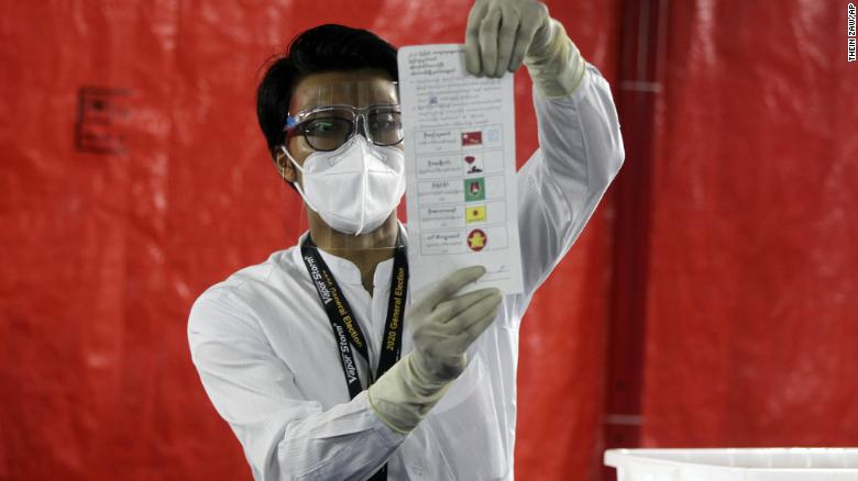 Myanmar's ruling party wins in general elections