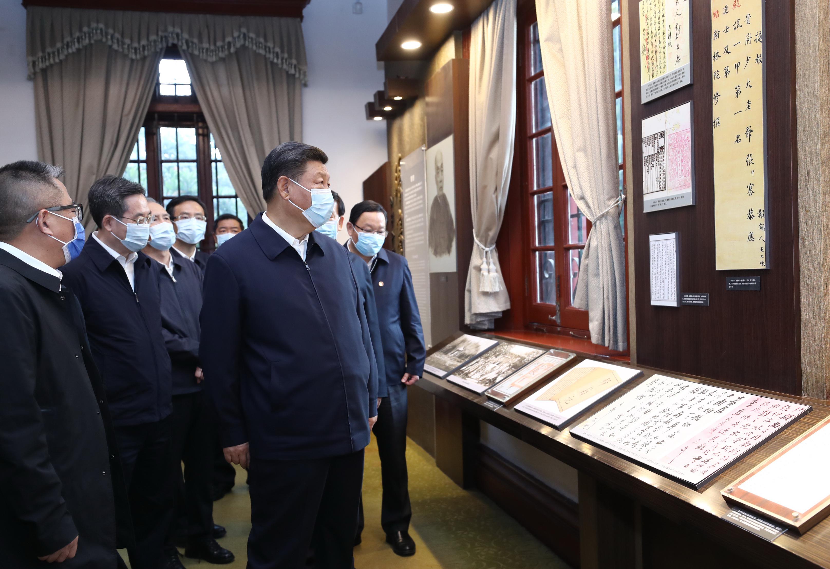 Xi praises model Chinese industrialist