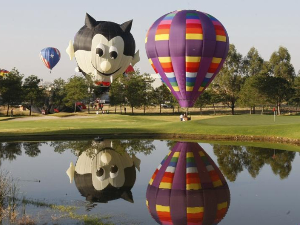 2020 International Balloon Festival held in Mexico